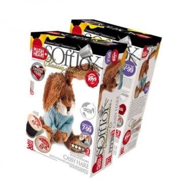 Креативен комплект уший си сам играчка PLUSH HEART «Cassy Hare»