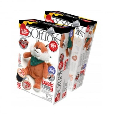 Креативен комплект уший си сам играчка PLUSH HEART «Fox»
