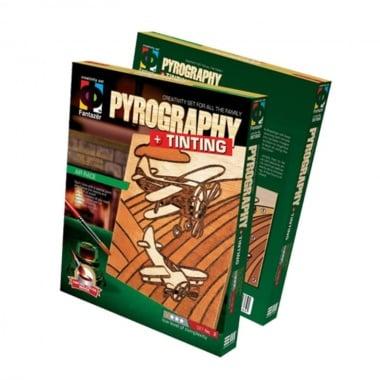 Креативен комплект за пирографиране Pyrography, «Air race»