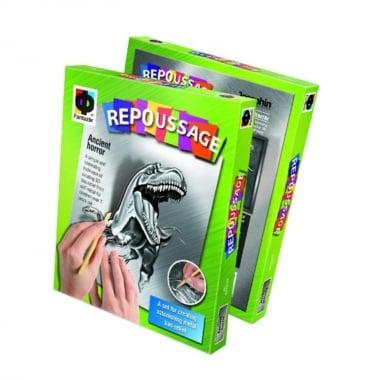 Креативен комплект за гравиране върху фолио Repoussage  «Terrifying Rex»