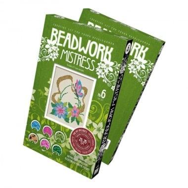 """Креативен комплект за шиене на гоблен с мъниста Beadwork mistresses  """"Meadow"""""""