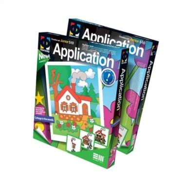 Креативен комплект Application «Cottage in the wood»