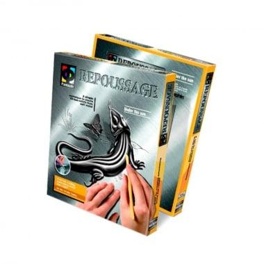 Креативен комплект за гравиране върху фолио Repoussage «Under the sun»