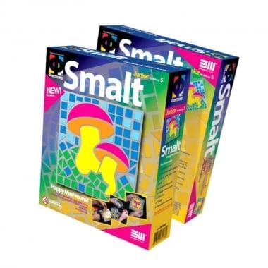Креативен комплект картина с мозайка Smalt, «Happy mushrooms»