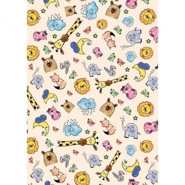 Варио картон, 250 g/ m2, 50 x 70 cm, 1 л., Happy animals