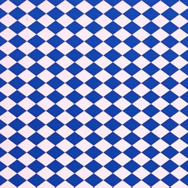 Варио картон, 300 g/m2, 50 x 70 cm, 1л, бял/син на карета/ромбове