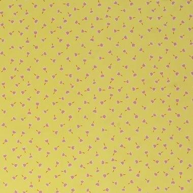Варио картон, 300 g/m2, 50 x 70 cm, 1л, жълт на лалета