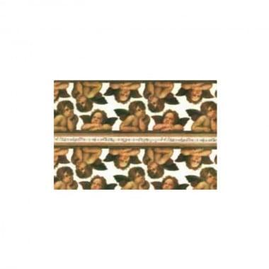 Декупажна хартия с мотиви, 85 g/m2, 50 x 70 cm, 1л, Ангелчета
