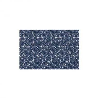 Декупажна хартия с мотиви, 85 g/m2, 50 x 70 cm, 1л, Декор в синьо