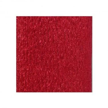 Креп хартия ALU, 80 g/m2, 50 x 250 cm, 1 ролка, червен
