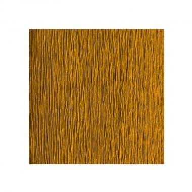 Креп хартия усилена, 130 g/m2, 50 x 250 cm, 1 ролка, златен