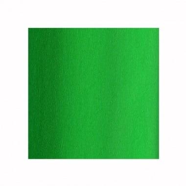 Креп хартия, 35 g/m2, 50 x 250 cm, 1 ролка, зелена ябълка