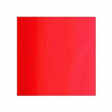 Креп хартия, 35 g/m2, 50 x 250 cm, 1 ролка, яркочервен