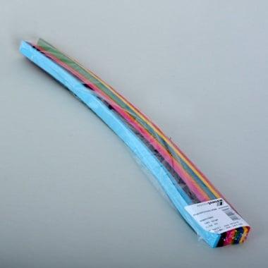 Набор ленти 130 g/m2, 2 x 50 cm, 200 ленти, разноцветни