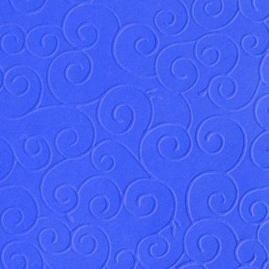 Преге картон, арабески, 220 g/m2, 50 x 70 cm, 1л, кралско син