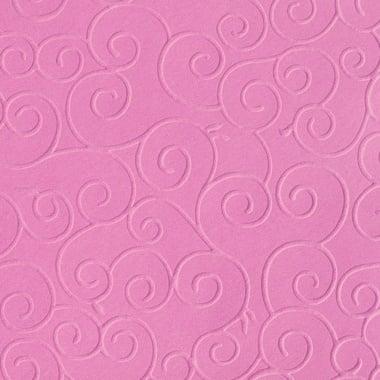 Преге картон, арабески, 220 g/m2, 50 x 70 cm, 1л, роза