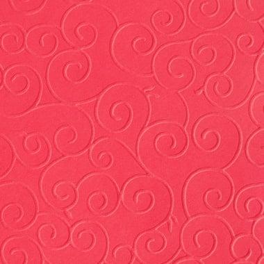 Преге картон, арабески, 220 g/m2, 50 x 70 cm, 1л, червен