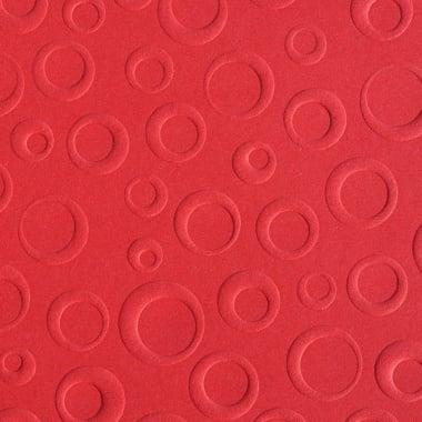 Преге картон, балони, 220 g/m2, 50 x 70 cm, 1л, червен