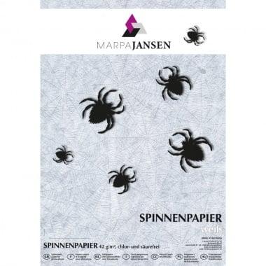 Хартия прозрачна паяжина, 42 g/m2, 50 x 70 cm, 10 листа, бял