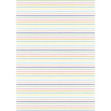 Хартия прозрачна твърда, 115 g/m2, 50 x 60 cm, 1 л., Цветни линии