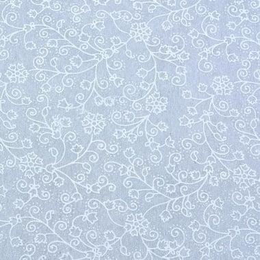Хартия ръчна памучна, 50 g/m2, 50 x 70 cm, 1 л., бял с релефни цветя