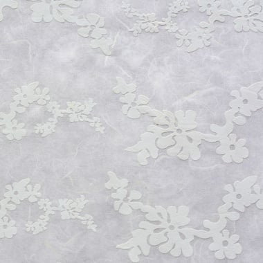 Японска 3D хартия, 35 g/m2, 50 x 70 cm, 1л, цветя