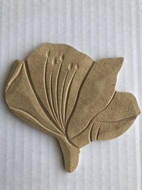 Декоративна фигура Rico Design, АМАРИЛИС, MDF, 12.5/12/0.5 cm