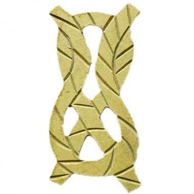 Декоративна фигура Rico Design, МОРЯШКА ПРИМКА, MDF, 10/5/0.5 cm