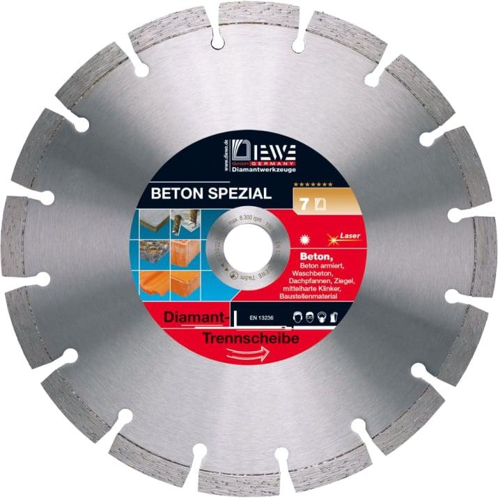 Диамантен диск за рязане DIEWE Beton Spezial