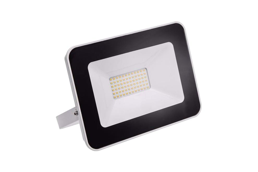 LED Прожектор GTV, ILUX, IP65, 50 W, 6000K, черен