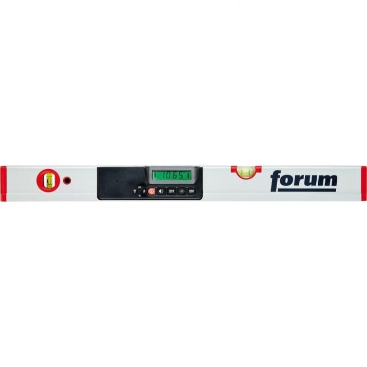 Нивелир дигитален FORUM, Profi, Alu, 0 – 90 = ± 0.1°, 800 мм
