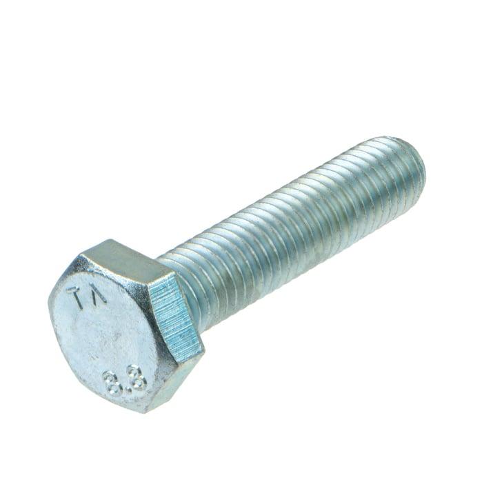 Болт шестостенен,DIN 933,8.8,UNC,vZn,1/4'x1/2'