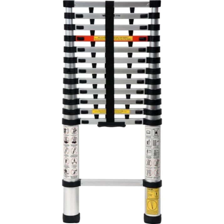 Стълба телескопична VOREL, 3.8 м, 150 кг, Al, EN 131-6