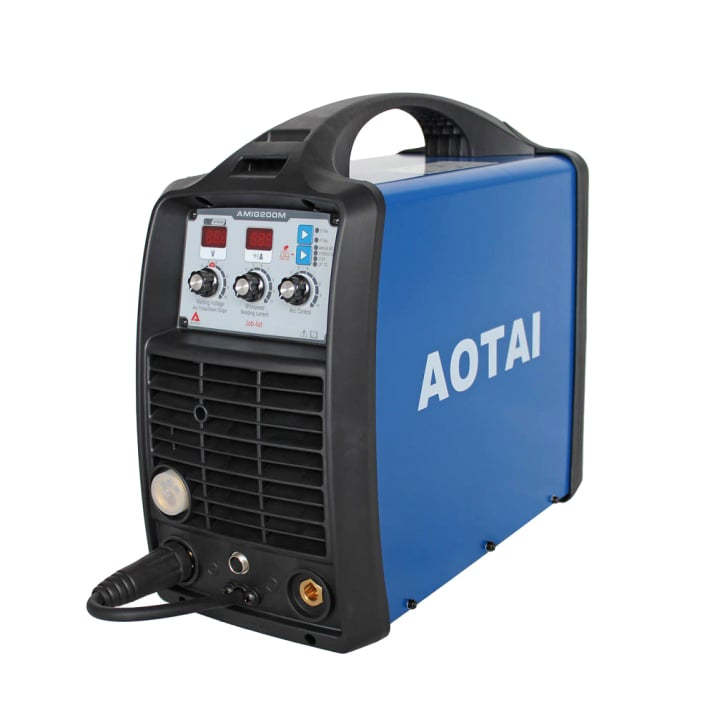 Aпарат инверторен телоподаващ AOTAI AMIG200M; MMA/ Lift TIG/ MIG / MAG