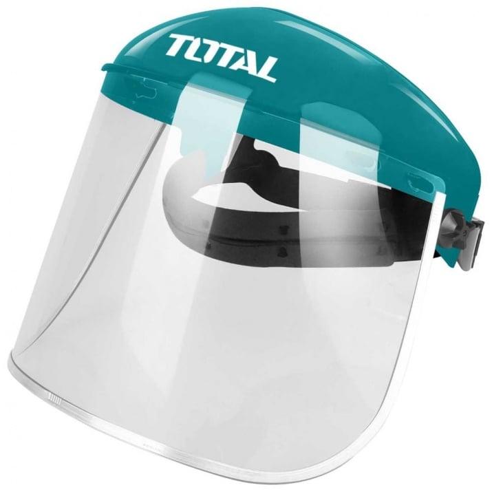 Предпазен шлем с поликарбонатен визьор TOTAL Industrial