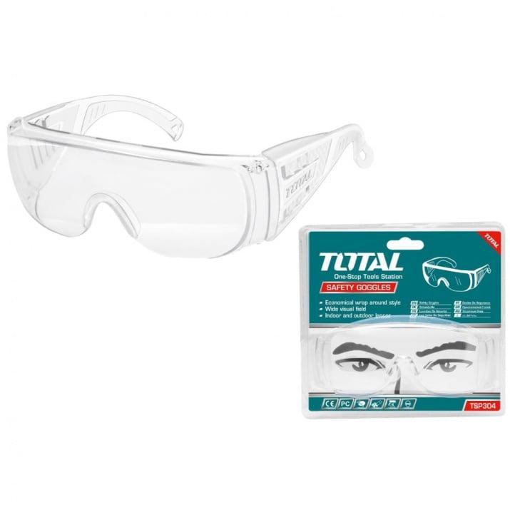 Защитни очила TOTAL, прозрачни, EN166