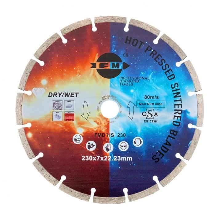 Диамантен диск за рязане FM HS