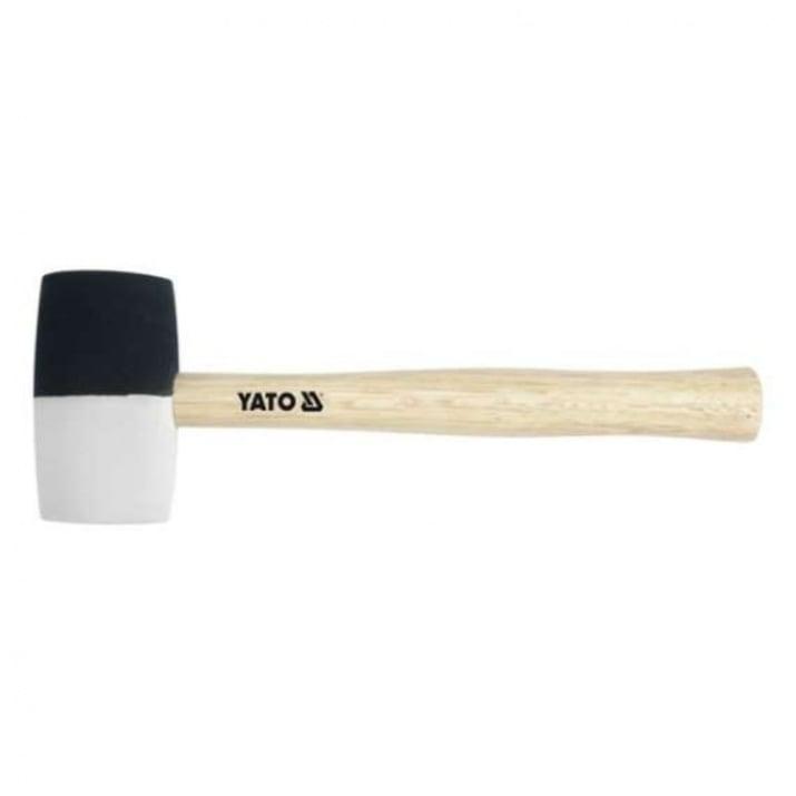 Чук гумен с дървена дръжка YATO, 0.780 кг