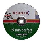 Диск за рязане на камък DRONCO Perfect C46R, Ф 230 х 1.9 х 22.23 мм