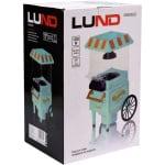 Машина за пуканки - ретро количка LUND, 1200 W