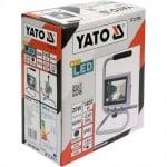 LED прожектор с поставка YATO, IP65, 20 W, 1400 lm