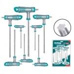 Комплект Т-образни TORX ключове TOTAL Industrial, CrV, T10 - T50