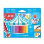 Комплект маслени пастели, Maped, COLOR` PEPS, 12 цвята