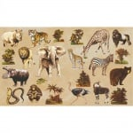 Декупажна хартия, 60 g/m2, 33 x 48 cm, 1л, Африка