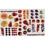 Декупажна хартия, 60 g/m2, 33 x 48 cm, 1л, Плодове