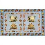 Декупажна хартия, 60 g/m2, 33 x 48 cm, 1л, Сбирка от раковини
