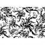 Декупажна хартия, 60 g/m2, 33 x 48 cm, 1л, Черно и Бяло