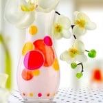 Комплект бои за порцелан и стъкло, Clear, 6 цвята