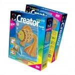Креативен комплект за създаване на гипсова отливка Creator «Fish»