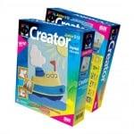 Креативен комплект за създаване на гипсова отливка Creator «Steamer»